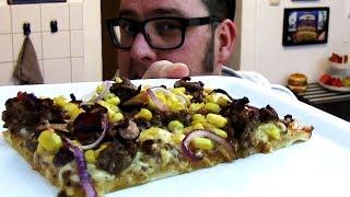 REZEPT: TEX-MEX BBQ PIZZA - schnell & einfach selber machen!