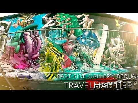 Berlin Travel East Side Gallery Tour Vlog 2017