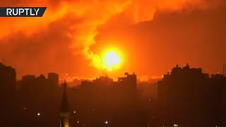 Israeli rockets hit Gaza hours after trilateral peace deal