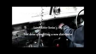 Land Rover Series 3 - Test drive after fitting a new distributor