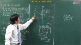 Bài giảng hình học 10 - Vectơ - Hệ trục tọa độ