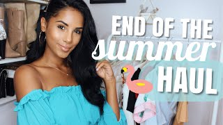 End Of The Summer Fashion Haul - TRY ON