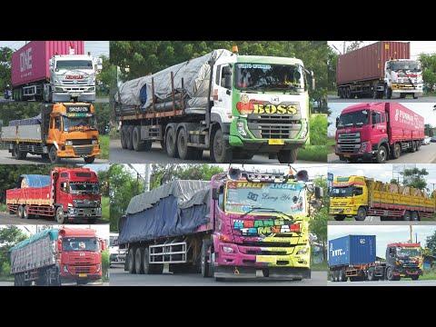 MANTUL!!! Kompilasi TRUK Besar Modifikasi, Truck Trailer, Truk Kontainer Hino Fuso Isuzu Quester MAN