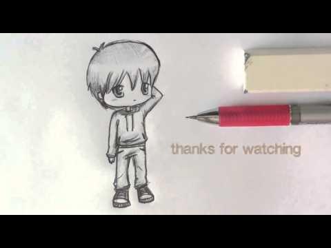 Cách vẽ Chibi nam cực dễ thương