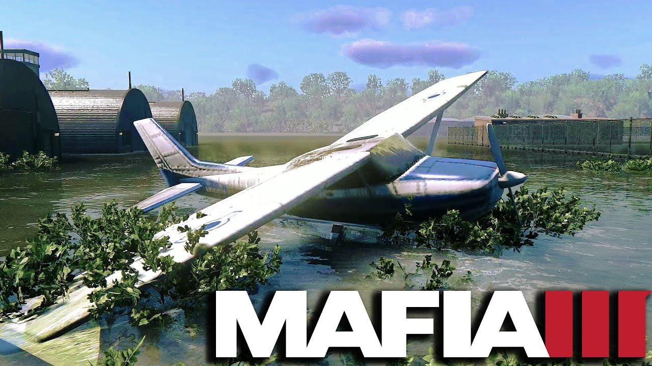 Mafia 3 Secret Location - Flooded Airport (Marais Airport)