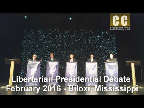 2016 Libertarian Presidential Debate - Convention in Mississippi on February 27