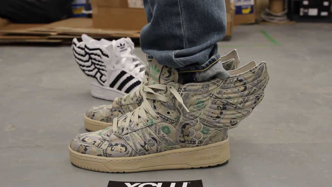 Habitual pronto patrocinado  Adidas Jeremy Scott Wings 2.0