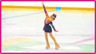 Болеем за Василису на Соревнованиях по Фигурному Катанию / Курган 2016