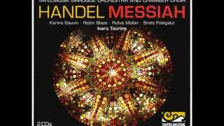Handel Messiah, Bass Accompagnato: Behold, I tell you