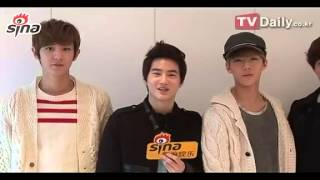 [CLIP] 121207 EXO-K Sina Interview