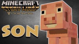 Minecraft Hikaye Modu - 14. Bölüm: SON