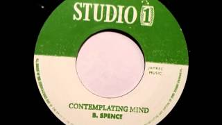 Barrington Spence - Contemplating Mind - Sudio One