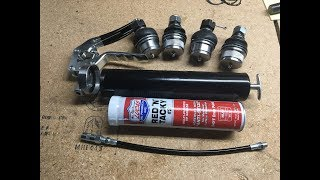 How to Assemble aฑd Use a Grease Gun
