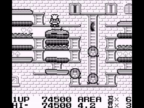 Burger Time Deluxe (Game Boy) - Tool Assisted Speedrun