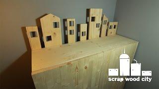DIY creative rolling cabinet