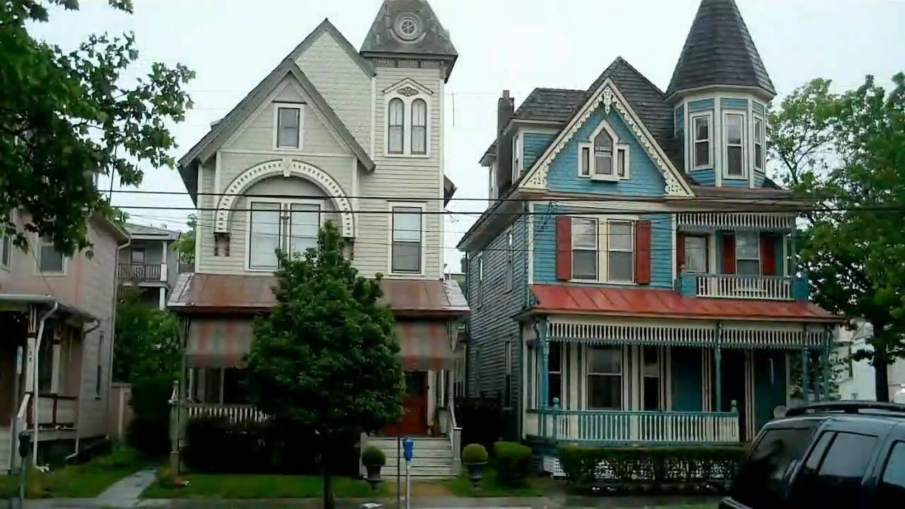 Victorian homes in cape may nj youtube - What is a victorian house ...