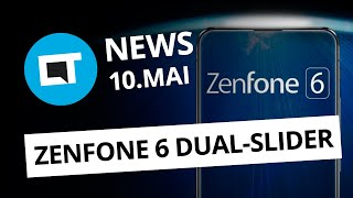 Huawei com Android Q; Zenfone 6 com slider duplo e + [CT News]