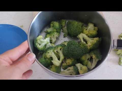 Cómo cocer brocoli en su punto?