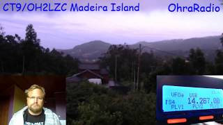 CT9/OH2LZC Madeira 18.8.2018