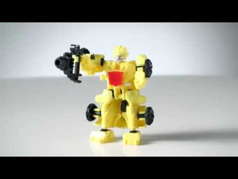 Transformers: Age Of Extinction Toys | Construct-Bots Product Demo