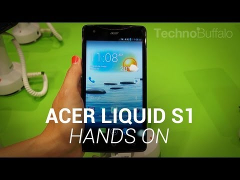 Acer Liquid S1 Hands-On