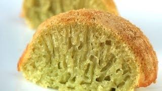 how to make banh bo nuong pandan coconut honeycomb cake