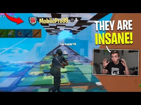 I Spectated PRO MOBILE PLAYERS (they Were Insane)