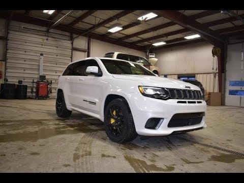 2018 Ivory Tri Coat White Jeep Grand Cherokee TrackHawk ...