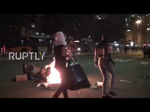 Brazil: Protest against Rousseff's impeachment turns violent in Sao Paulo