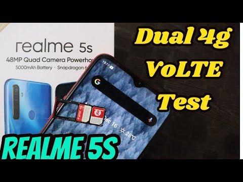 [Hindi] Realme 5s Dual 4G VOLTE Test With  JIO & Airtel Sim