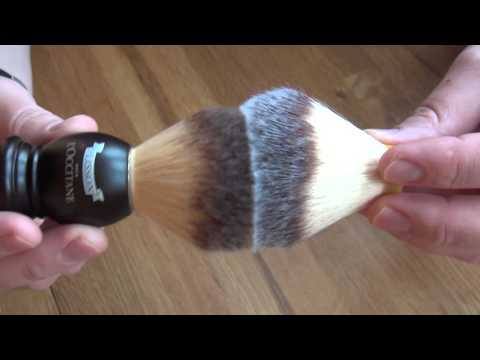 Plisson type shaving brush knots