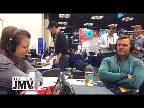 JMV Interviews Chris Ballard Live at NFL Combine