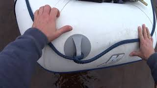 Транцеві колеса для човни ПВХ (шасі). Човен Quicksilver 310 airdeck