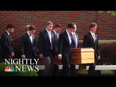 Thumbnail: Otto Warmbier Laid To Rest In His Ohio Hometown Thursday | NBC Nightly News