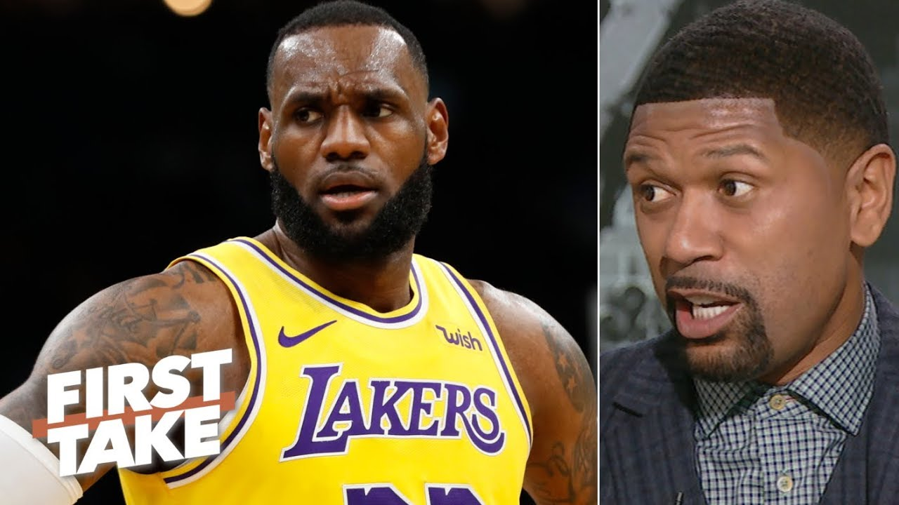 ca66fe5e9a LeBron James' age is showing in his game – Jalen Rose   First Take ...