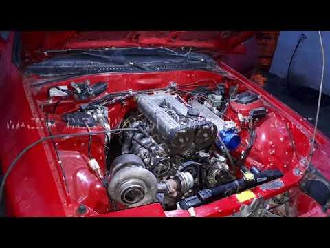 Mazda Rx7 Swap 4g63 Turbo Manifoldu Yapıyoruz Turbonun Yeri Nasıl