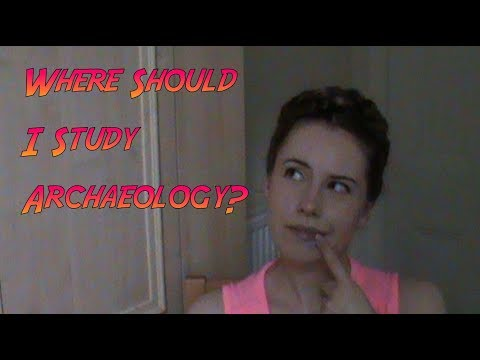 Where to study Archaeology