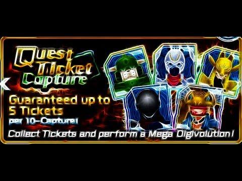 New Quest Ticket Capture 200 Digistones-Digimon Links