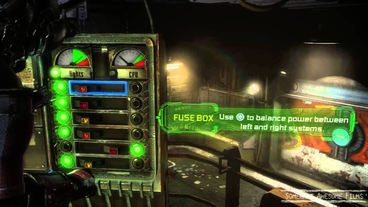 Dead Space 3 Fuse Box Balance the Power - YouTube
