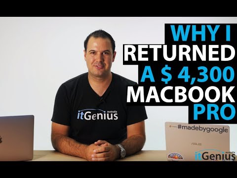 Why I Returned my $4300 MacBook Pro for a Chromebook