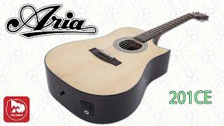Скачать Электроакустическая гитара ARIA 201CE