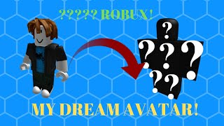CREATING MY DREAM AVATAR (thousands of R$🤑) | Roblox