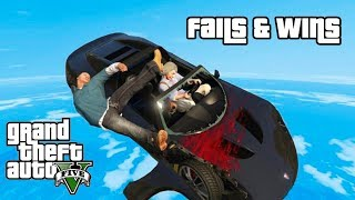 GTA 5 FAILS & WINS #8 (Best GTA V Funny Moments Compilation)