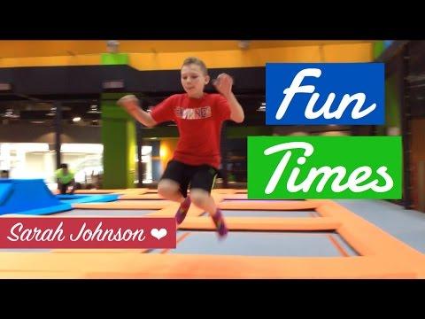 Fun & Fit TRAMPOLINE PARK DI J-WALK MAL JOGJA