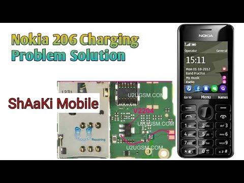Nokia 206 Charging Problem Solution