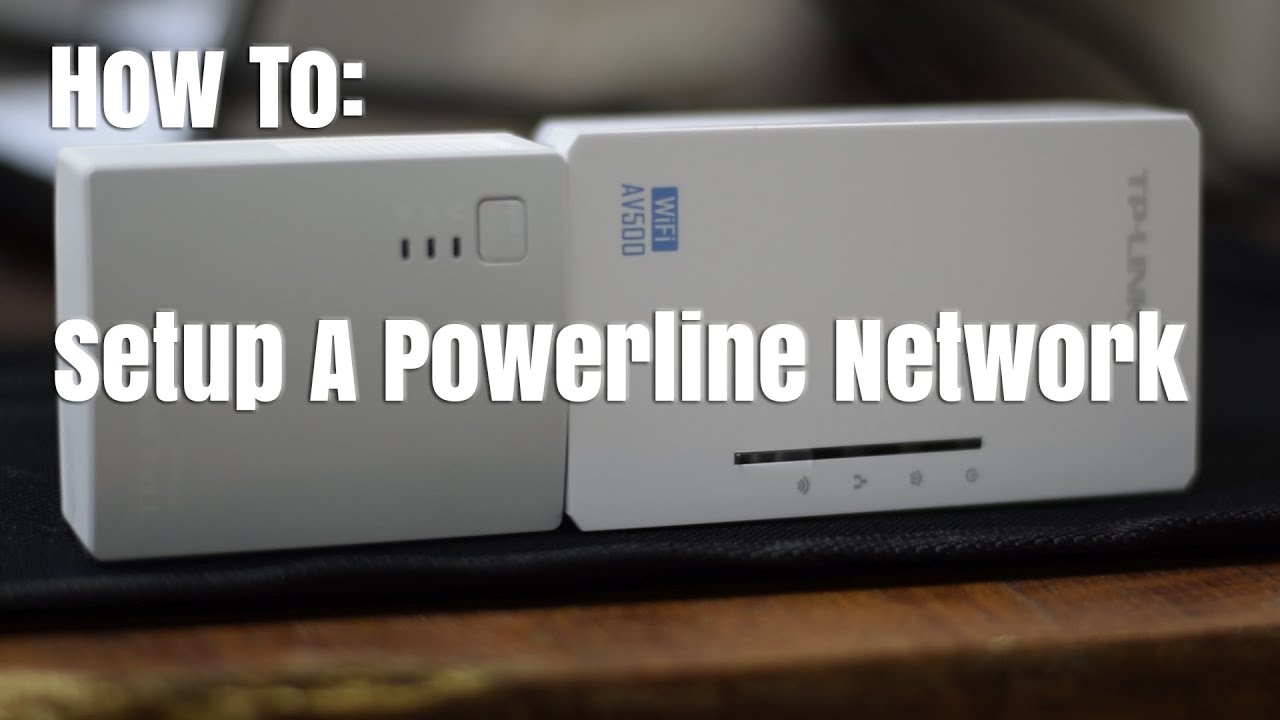 How To Set Up A Powerline Adapter Network With Wifi Range