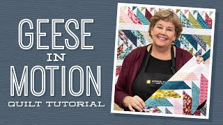 """Make a """"Geese in Motion"""" Quilt with Jenny Doan of Missouri Star (Video Tutorial)"""