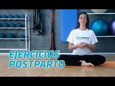 Ejercicios Postparto - Suelo pélvico, abdomen y espalda