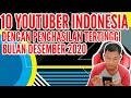 - Viral!!! Inilah 10 Daftar Youtuber Indonesia dengan Penghasilan Tertinggi Edisi Bulan Desember 2020