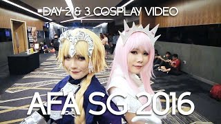 AFA SG 2016 (Day 2 & 3 Cosplay Video)